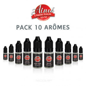 Pack arômes Aimé 10 ml