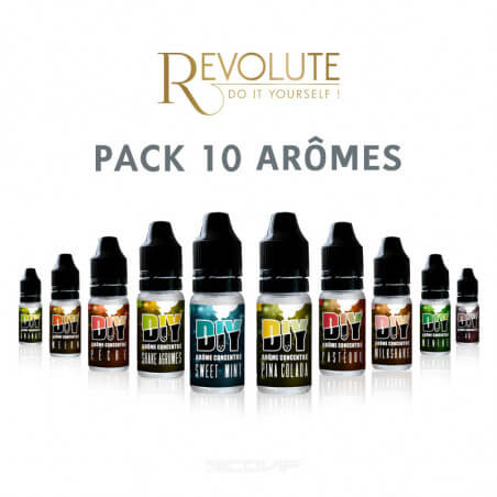 Pack arômes Revolute 10 ml