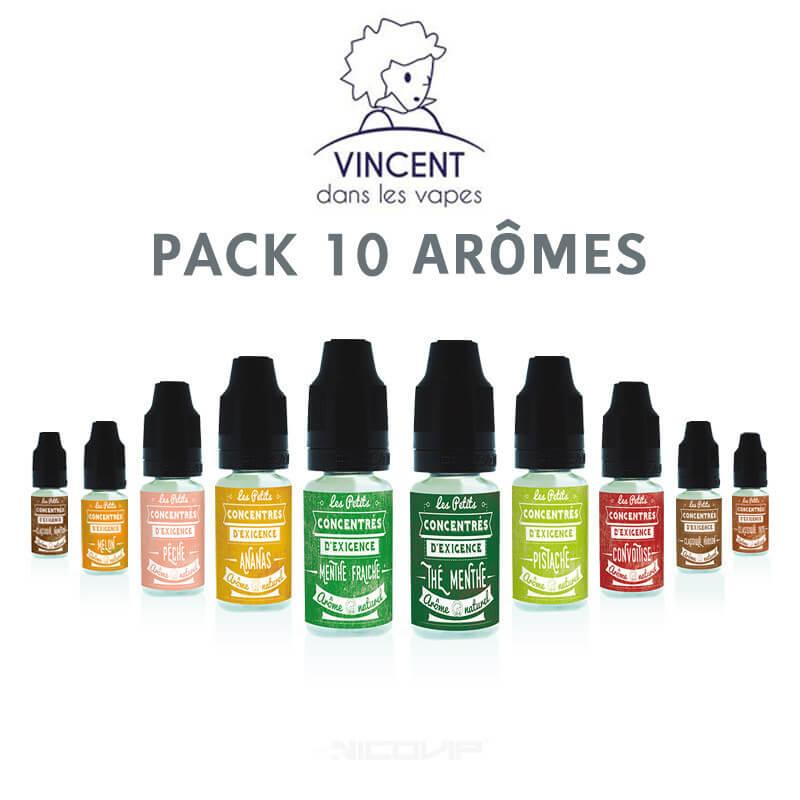 Pack arômes VDLV 10 ml