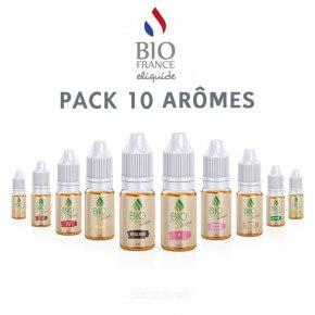Pack arômes Bio France E-liquide 10 ml
