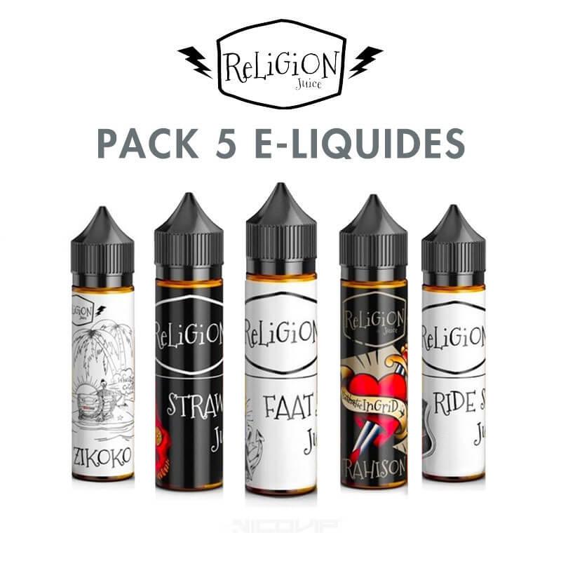 Pack Religion Juice 50 ml