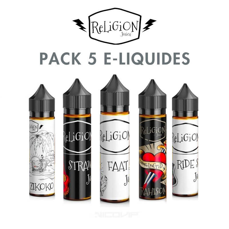 Pack Religion Juice 50 ml