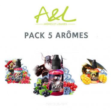 Pack arômes A&L 30 ml