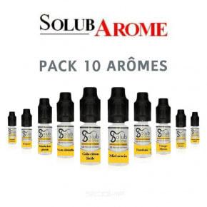 Pack arômes Solubarome 10 ml