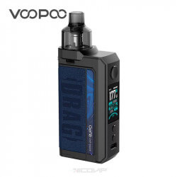 Kit Drag Max Voopoo Bleu