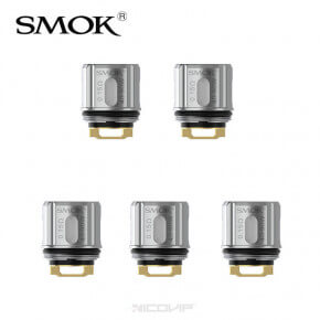 Pack 5 résistances V9 Meshed 0,15 ohm Smok