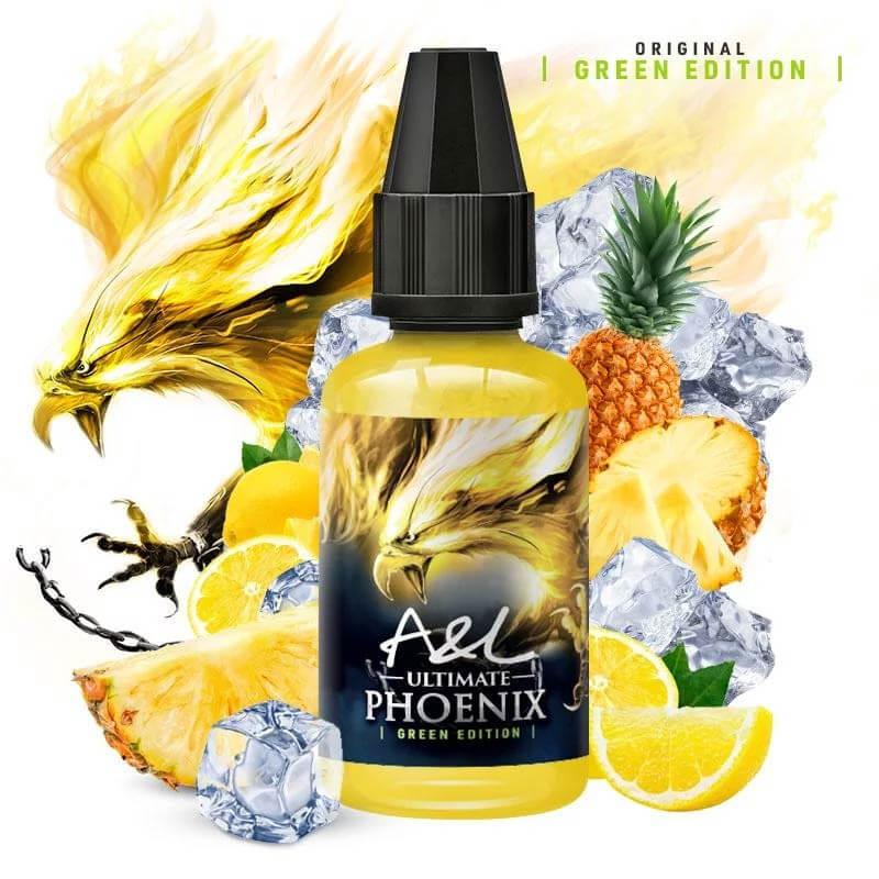 Arôme Concentré Phoenix Green Edition A&L 30 ml