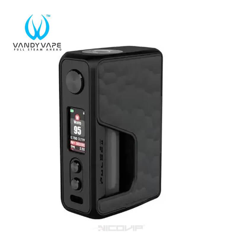 Box Pulse V2 BF 95W Vandy Vape carbone