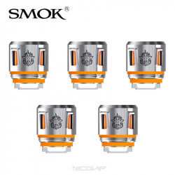 Pack 5 résistances V8 Baby Smok Orange