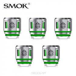 Pack 5 résistances V8 Baby Smok Vert
