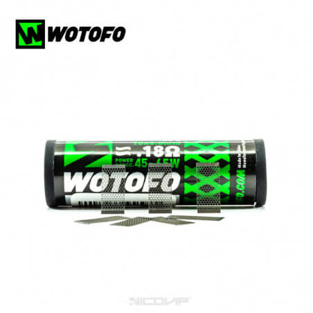 Résistance Mesh Profile M RTA Wotofo 0,18 ohm