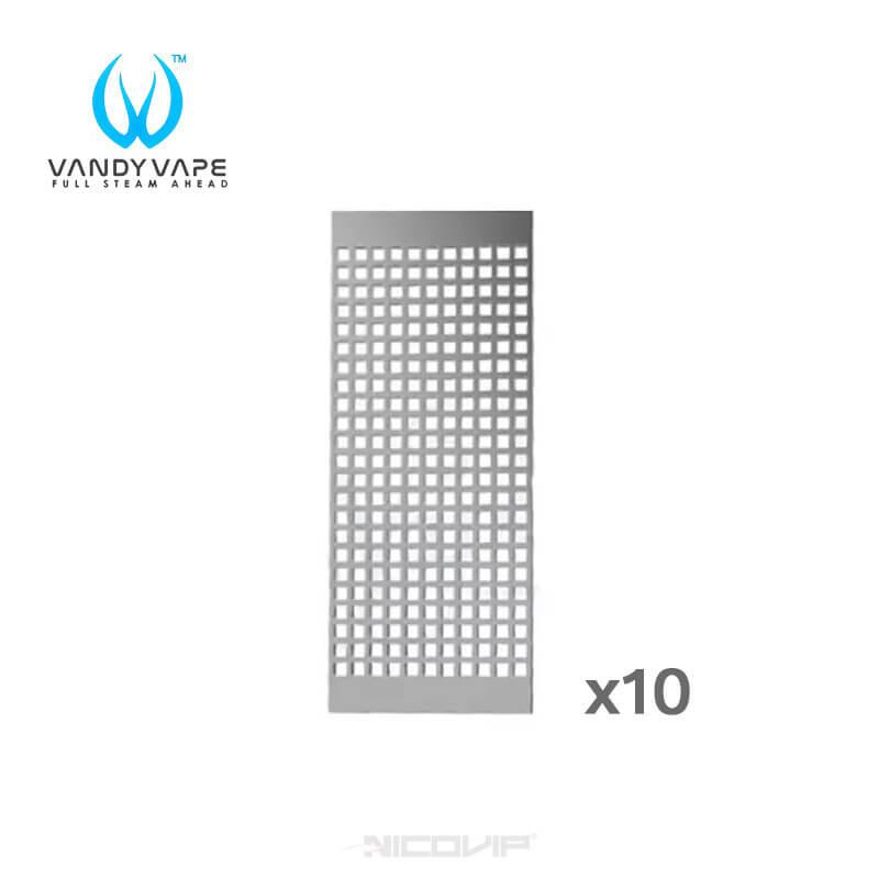 Pack 10 résistances M Mesh 0,15 ohm Vandy Vape