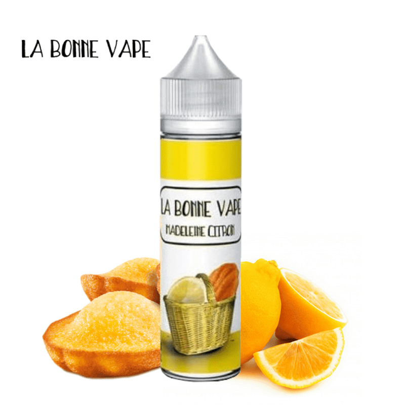 Madeleine Citron La Bonne Vape 50 ml