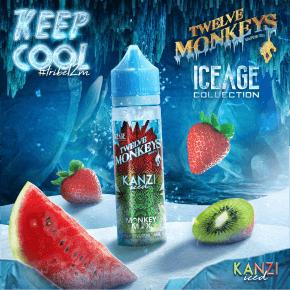 Iced Kanzi Twelve Monkeys 50 ml