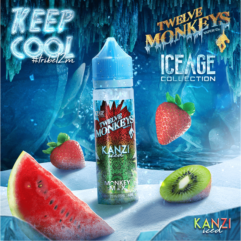 Iced Kanzi Twelve Monkeys 50 ml