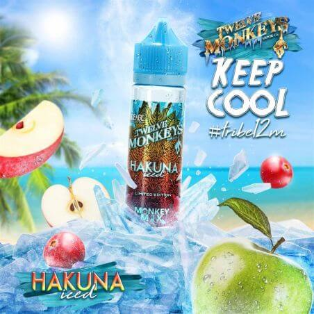 Iced Hakuna Twelve Monkeys 50 ml