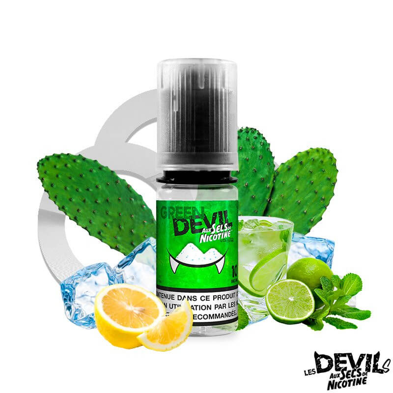Green Devil sels de nicotine AVAP
