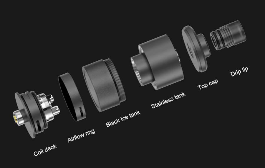 Precisio MTL RTA 2.7ml 22mm BD Vape caractèristiques