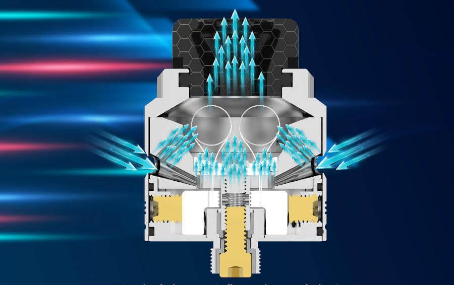 airflow Tauren Max RDA Thunderhead Creations