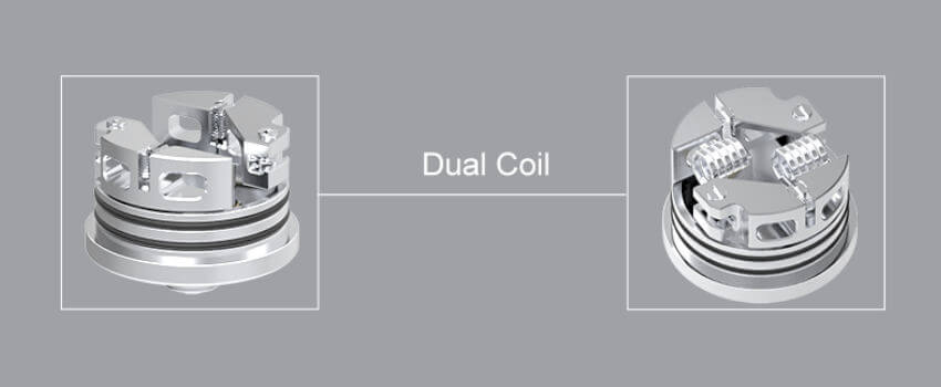 Dual coil plateu Wasp S Oumier