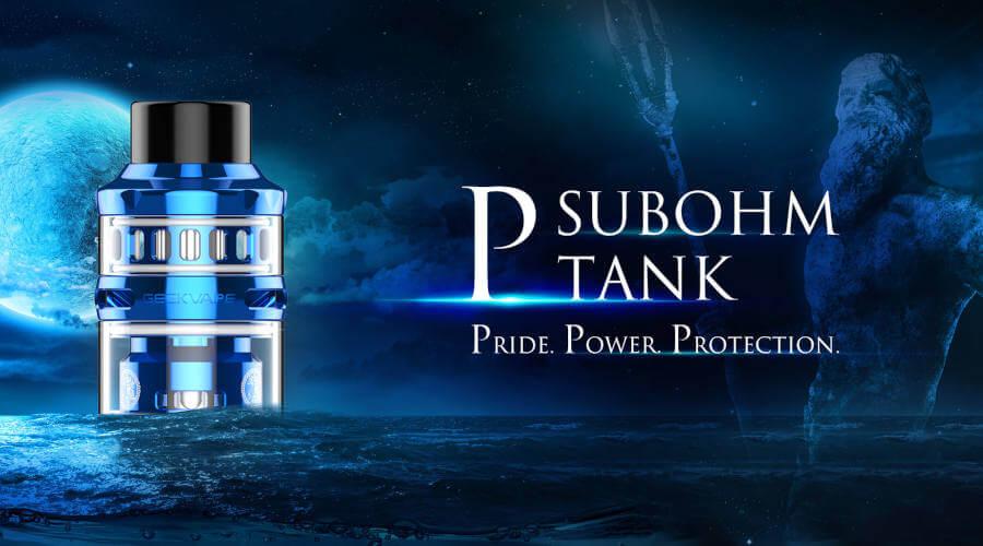 clearomiseur P Sub Ohm Tank geek vape presentation