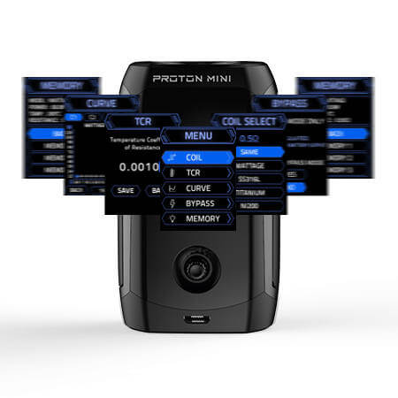 BOX PROTON MINI 3400MAH INNOKIN modes