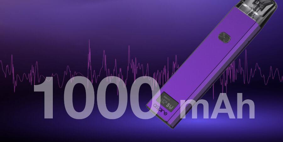 batterie 1000 mAh Aspire