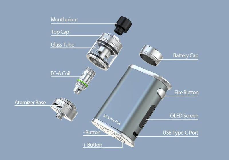 Eleaf iStick Pico Plus 75W Kit caractèristiques