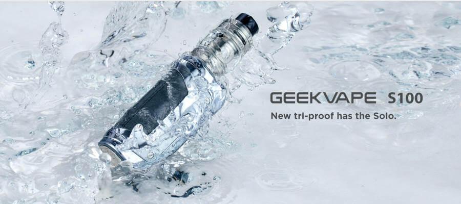 GEEKVAPE S100 Geek Vape presentation