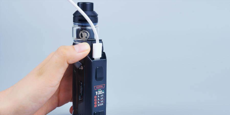 GEEKVAPE S100 rechargement usb