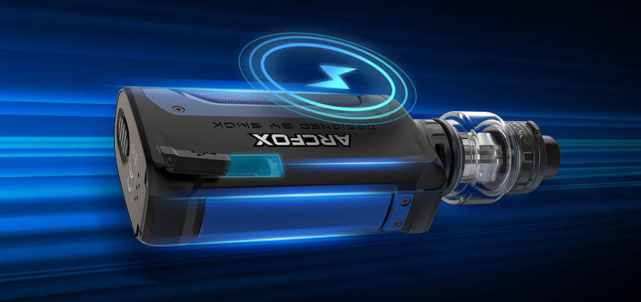 arcfox usb-C rechargement