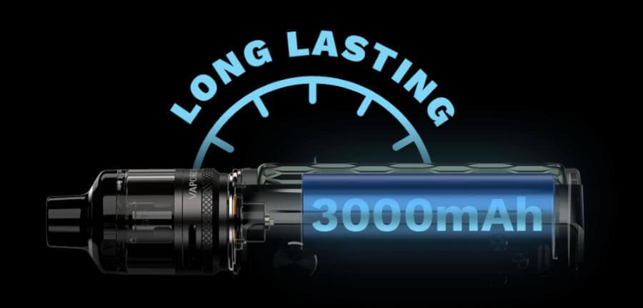 Kit Target 80 3000 mAh Vaporesso  batterie