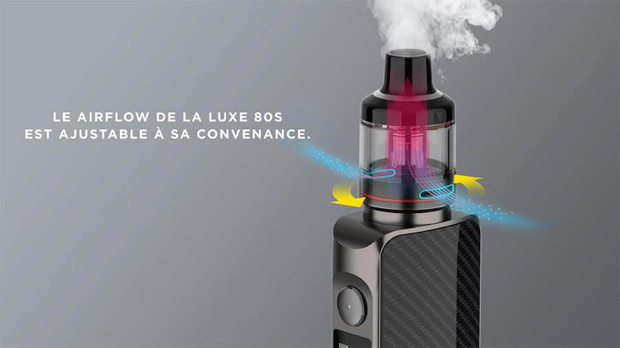 Kit LUXE 80 S - Vaporesso airflow