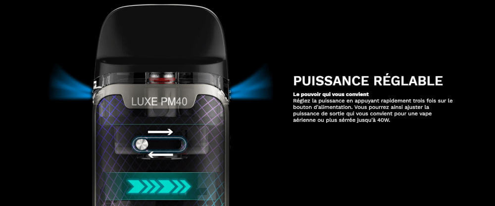 Airflow Luxe PM40 Vaporesso