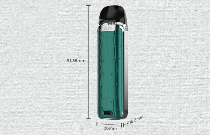 Pod-Q-vaporesso-dimensions