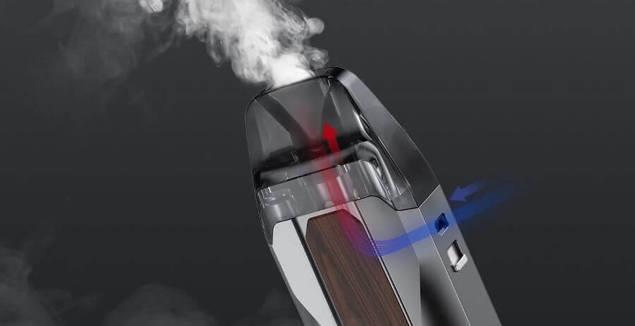 airflow latéral kit Pod Favostix 1000 mAh Aspire 30W