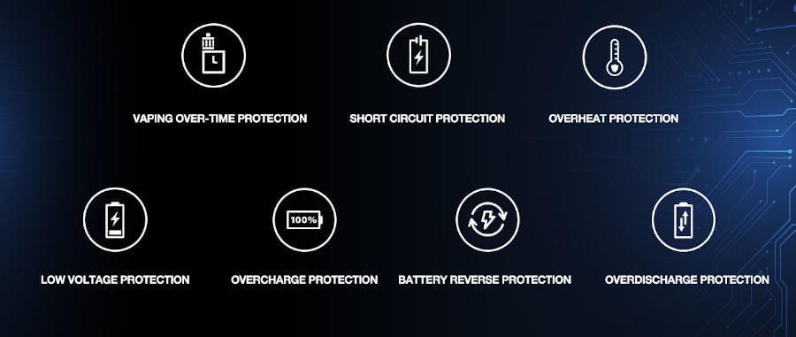 Box Rhea 200W Aspire protections