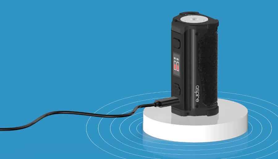 Box Rhea 200W Aspire rechargement usb-C