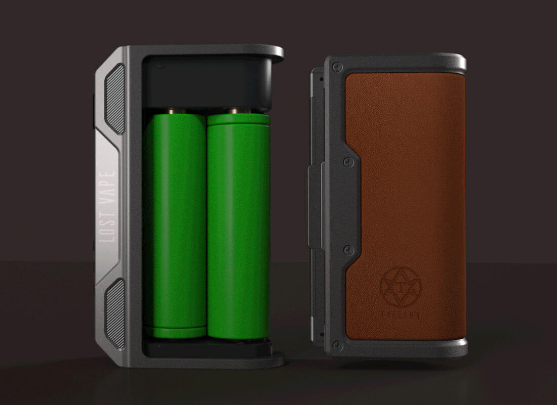 Box Thelema DNA 250C Lost vape accus 18650