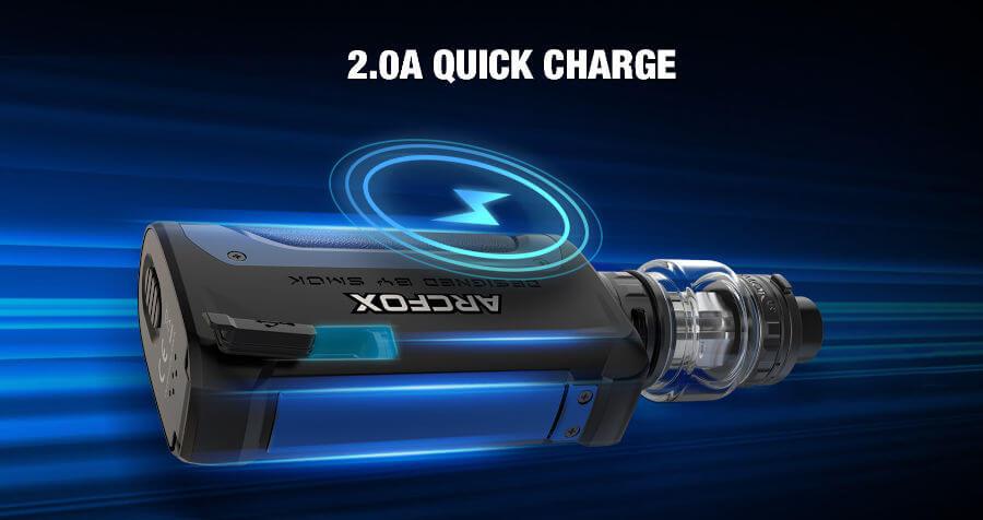 recharge rapide box arcfox Smok