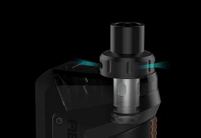 Kit pod Aegis Hero Geek Vape : airflow
