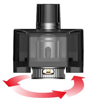 Kit pod RPM160 Smok airflow