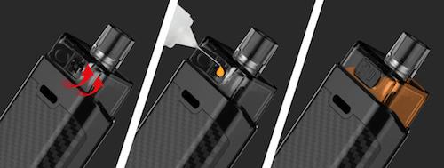 Kit pod RPM160 Smok remplissage