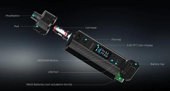 Kit pod RPM160 Smok