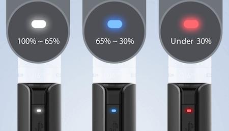 Kit Q16 Pro Justfog : batterie