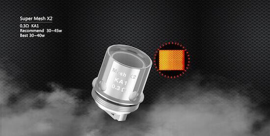 Kit Aegis Mini 80W de Geek Vape : résistances