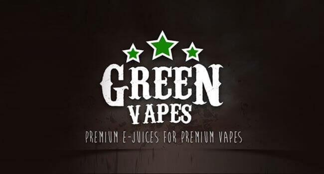E-liquide marque Green Vapes