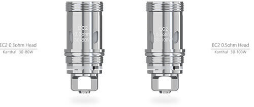 Résistances EC2 du kit iStick Melo 4 Eleaf