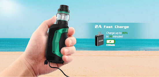 Batterie du Kit Aegis Mini 80W de Geek Vape