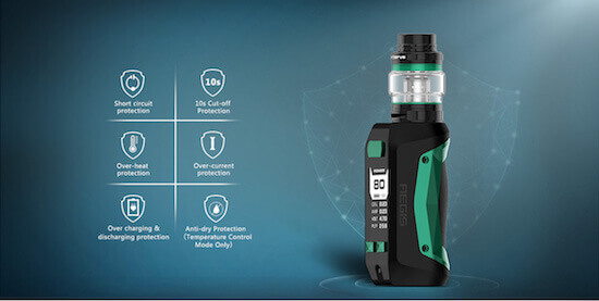 Kit Aegis Mini 80W de Geek Vape